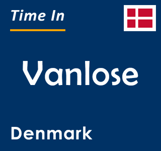 Current time in Vanlose, Denmark