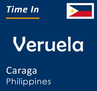 Current time in Veruela, Caraga, Philippines
