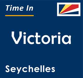 Current time in Victoria, Seychelles