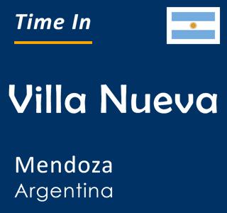 Current time in Villa Nueva, Mendoza, Argentina