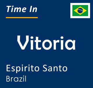Current time in Vitoria, Espirito Santo, Brazil