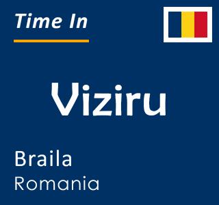 Current time in Viziru, Braila, Romania