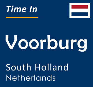 Current time in Voorburg, South Holland, Netherlands
