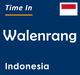 Current time in Walenrang, Indonesia