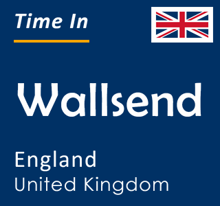 Current time in Wallsend, England, United Kingdom