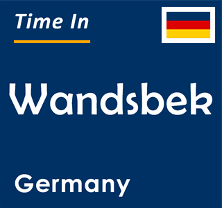 Current time in Wandsbek, Germany