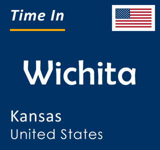 Current time in Wichita, Kansas, United States