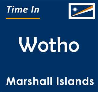 Current time in Wotho, Marshall Islands