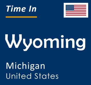 Current time in Wyoming, Michigan, United States