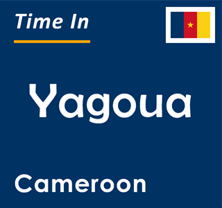 Current time in Yagoua, Cameroon