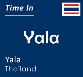 Current time in Yala, Yala, Thailand