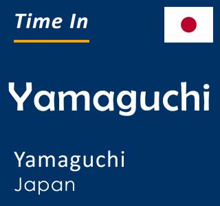 Current time in Yamaguchi, Yamaguchi, Japan