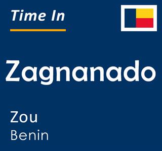 Current time in Zagnanado, Zou, Benin