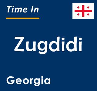 Current time in Zugdidi, Georgia
