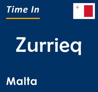 Current time in Zurrieq, Malta