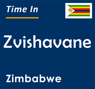 Current time in Zvishavane, Zimbabwe