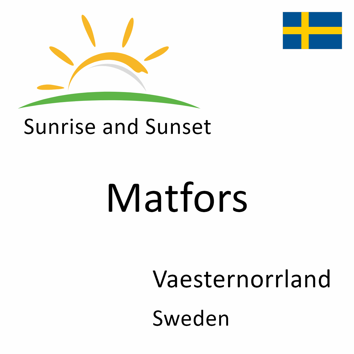 Matfors dating sweden